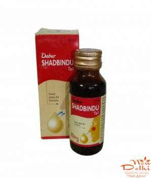 Shatbindu oil (25 ml) (капли в нос) DABUR